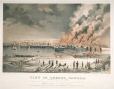 M778 | View of Quebec, Canada; From the River St. Charles; Shewing the conflagration of June 28th. 1845 (...). | Print | John Murray |  |