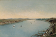 M880 | Panoramic View of Quebec and its Surroundings from the Prison Tower of Quebec City | Painting | Henry Richard S. Bunnett |  |