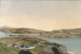 M885 | Panoramic View of Quebec and its Surroundings from the Prison Tower of Quebec City | Painting | Henry Richard S. Bunnett |  |