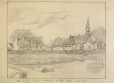 M8981 | Catholic church at Oka as it was in 1872 | Drawing | O. Dieker |  |