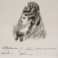 M911.1.57 | Head of a woman | Print | John Henry Walker (1831-1899) |  |