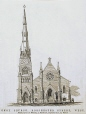 M929.17.22 | KNOX CHURCH, DORCHESTER STREET, WEST | Print | John Henry Walker (1831-1899) |  |
