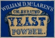 M930.50.1.104 | Étiquette commerciale de William D. McLaren's, Celebrated Yeast Powder | Estampe | John Henry Walker (1831-1899) |  |