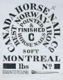 M930.50.1.172 | Commercial label of Canada Horse Nail Co. | Print | John Henry Walker (1831-1899) |  |