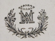 M930.50.1.220 | Monogram of IXXI | Print | John Henry Walker (1831-1899) |  |