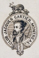 M930.50.1.223 | Emblem of Club Jacques Cartier, Montreal | Print | John Henry Walker (1831-1899) |  |
