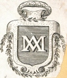 M930.50.1.265 | Monogram of IXXI | Print | John Henry Walker (1831-1899) |  |