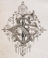 M930.50.1.289 | Monogram of S. F. C. | Print | John Henry Walker (1831-1899) |  |
