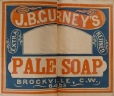 M930.50.1.367 | Commercial label of J. B. Gurney's Pale Soap | Print | John Henry Walker (1831-1899) |  |