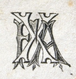 M930.50.1.437 | Monogram of F. X. A. | Print | John Henry Walker (1831-1899) |  |