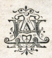 M930.50.1.447 | Monogram of H. A. | Print | John Henry Walker (1831-1899) |  |