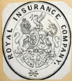 M930.50.1.486 | Armoiries de la Royal Insurance Company | Estampe | John Henry Walker (1831-1899) |  |