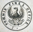 M930.50.1.497 | Seal, Phoenix Fire Office | Print | John Henry Walker (1831-1899) |  |