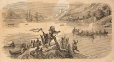 M930.50.1.503 | Native people scene | Print | John Henry Walker (1831-1899) |  |