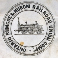 M930.50.1.525 | Seal of Ontario Simcoe & Huron Railroad Union Compy. | Print | John Henry Walker (1831-1899) |  |