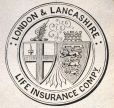 M930.50.1.527 | London & Lancashire coat of arms | Print | John Henry Walker (1831-1899) |  |