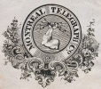 M930.50.1.533 | Emblem of Montreal Telegraph Co. | Print | John Henry Walker (1831-1899) |  |