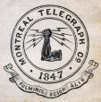 M930.50.1.536 | Emblem of Montreal Telegraph Co. | Print | John Henry Walker (1831-1899) |  |
