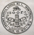 M930.50.1.552 | Seal, Mount Royal Lodge No.1., Montreal | Print | John Henry Walker (1831-1899) |  |