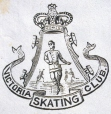 M930.50.1.617 | Emblem of Victoria Skating Club | Print | John Henry Walker (1831-1899) |  |