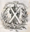 M930.50.1.670 | Motto : Relieve the Distressed | Print | John Henry Walker (1831-1899) |  |