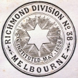 M930.50.1.675 | Seal of Richmond Division No 38, Melbourne | Print | John Henry Walker (1831-1899) |  |
