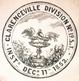 M930.50.1.685 | Seal of Clarenceville Division No. 19, Society of Temperance | Print | John Henry Walker (1831-1899) |  |