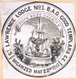 M930.50.1.686 | Seal of St. Lawrence Lodge No. 1, B. A. O. Good Templers C. E. | Print | John Henry Walker (1831-1899) |  |
