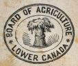 M930.50.1.792 | Seal of Board of Agriculture, Lower Canada | Print | John Henry Walker (1831-1899) |  |