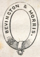 M930.50.1.821 | Design for corporate name of Bevington & Morris | Print | John Henry Walker (1831-1899) |  |