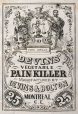 M930.50.1.900 | Commercial label of Devins' Vegetable Pain Killer | Print | John Henry Walker (1831-1899) |  |