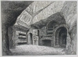 M930.50.2.148 | Interior of catacombs | Print | John Henry Walker (1831-1899) |  |