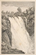 M930.50.2.165 | Waterfalls, Montmorency | Print | John Henry Walker (1831-1899) |  |