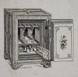 M930.50.3.200 | Catalogue illustration of a Burglar Proof safe | Print | John Henry Walker (1831-1899) |  |