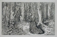 M930.50.3.218 | Young Girl Kneeling | Print | Edward John Russell |  |