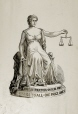 M930.50.6.110 | JUSTICE POUR TOUS-UN SEUL PRIX JUSTICE TO ALL-ONE PRICE ONLY | Print | John Henry Walker (1831-1899) |  |