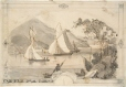 M930.50.6.17 | Waterscape and boat | Painting | John Henry Walker (1831-1899) |  |