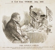 M930.50.7.100 | Caricature | Estampe | John Henry Walker (1831-1899) |  |