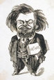 M930.50.7.562 | Caricature of an Unidentified Man | Print | Peter Mazell |  |