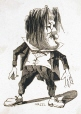 M930.50.7.564 | Caricature of an Unidentified Man | Print | Peter Mazell |  |