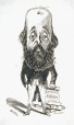 M930.50.7.565 | Caricature of an Unidentified Man | Print | Peter Mazell |  |