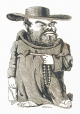 M930.50.7.566 | Caricature of a religious figure | Print | Peter Mazell |  |