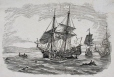 M930.50.8.497 | Crew going ashore from square-rigged man-o-war | Print | John Henry Walker (1831-1899) |  |