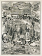 M930.50.8.93 | The Travellers Companion and Commercial Directory | Estampe | John Henry Walker (1831-1899) |  |