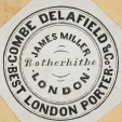 M930.51.1.494 | Commercial label of Combe Delafield & Co., Best London Porter, James Miller, London | Print | John Henry Walker (1831-1899) |  |