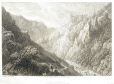 M932.8.1.145 | The Bode-Thal. Looking towards the Ross Trappe, Harz | Print | Batty |  |