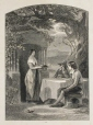 M932.8.1.22 | Travellers and a Servant Girl | Print | F. W. Tepham |  |