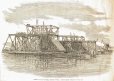 M932.8.1.225   Works at the Victoria Bridge. Montreal, QC, 1858   Print   Anonyme - Anonymous     
