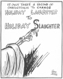 M965.199.1178 | Give Death a Holiday Too. | Drawing | John Collins |  |