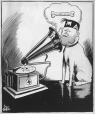 M965.199.1819 | His Master's Voice. | Drawing | John Collins |  |